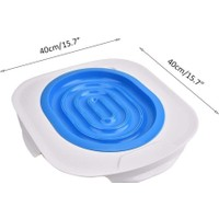 Mixpet Kedi Tuvalet Eğitim Plastik Klozet Kapağı