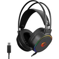 Rampage ROGUE USB 7.1 Surround RGB Işık Efektli Gaming Oyuncu Mikrofonlu Kulaklık