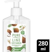 Pure Line Doğal Özler Sıvı Sabun Hindistan Cevizi & Vanilya 280 ml
