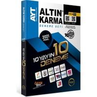 Altın Karma Yayınları 2021 AYT 10 Farklı Yayın 10 Deneme Seti