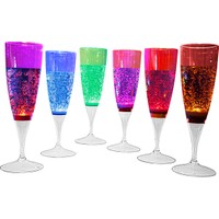 Aroma Aromabul 6 Adet LED Işıklı Plastik Bardak