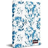 Halk Kitabevi Beyaz Bahçe Süresiz Ajanda ve Planlama Defteri 13,5 x 19,5 cm