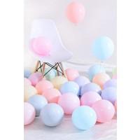 Beysus Makaron Pastel Karışık Renk 50 Li Balon