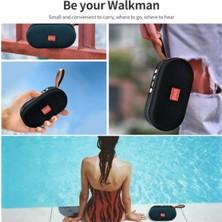 Yukka Siyah T7 Mini Taşınabilir Bluetooth Hoparlör (Yurt Dışından)