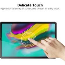 """Fibaks Samsung Galaxy Tab S6 Lite SM-P610 10.4"""" Ekran Koruyucu Nano Esnek Flexible 9h Micro Temperli Kırılmaz Cam"""