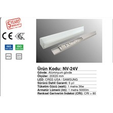 Samsung Kuyumcu Vitrin Samsung 24V Armatür Led