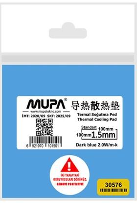 Mupa Termal Ped / Thermal Pad 1.5mm 2.0W/MK 10X10cm