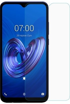 Fibaks LG K50S Ekran Koruyucu 9H Temperli Cam Sert Şeffaf