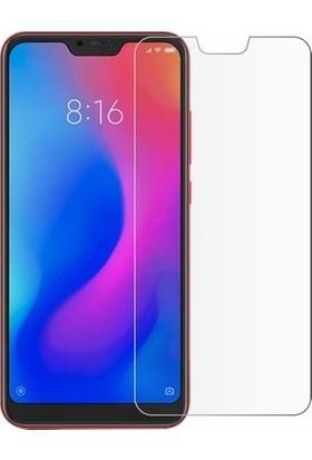 Fibaks Xiaomi Mi A2 Lite Kılıf + Ekran Koruyucu A+ Şeffaf Lüx Süper Yumuşak 0.3mm Ince Slim Silikon