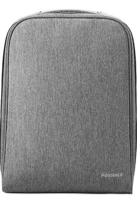 Huawei Pascal Dizüstü Bilgisayar Sırt Çantası - Gri