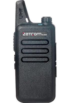 Zetcom N446 V1 Standart Vers. Walkie Talkie Pmr El Telsizi