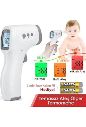 Oley Infrared Thermometer Temassız Ateş Ölçer Uts Kayıtlı
