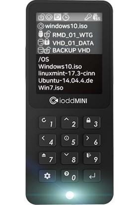 IODD Mini USB 3.0 256-bit Güvenli şifrelenmiş SSD Sürücü 256 GB (Yurt Dışından)