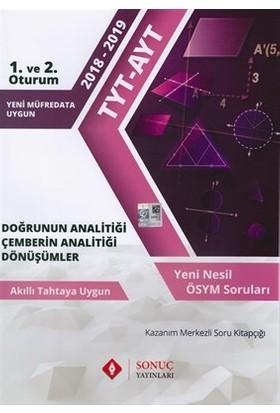 Sonuç Yayınları TYT AYT Geometri Doğrunun Analitiği Çemberin Analitiği Dönüşümler
