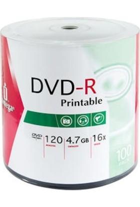 Iomega Boş Yazılabilir Dvd-R Printable 100'LÜ