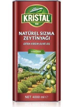 Kristal Natürel Sızma Zeytinyağı DG Teneke 4 L
