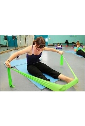 Technosmart Pilates Bandı Plates Egzersiz Direnç Lastiği 1 Adet