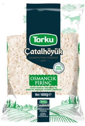 Torku Çatalhöyük Osmancık Pirinç 1 kg x 2