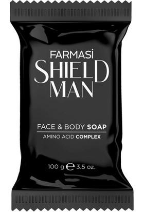 Farması Shıeld Man Yüz ve Vücut Sabunu 100 ml