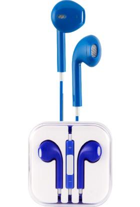 Sunix 5g Iph Earphone 3.5mm Kulaklık Mavi