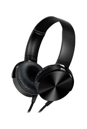Sunix SX53 Kulaküstü Mikrofonlu Kulaklık Siyah