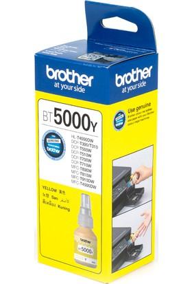 BROTHER BT5000Y Sarı Mürekkep Kartuş (5000 Sayfa)