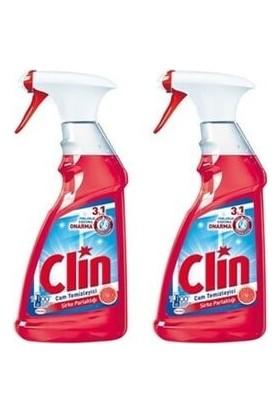 Clin Cam Temizleyici Sprey Sirke Parlaklığı 500 ml