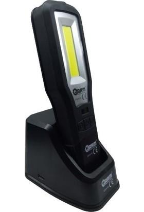 Arm LED El Feneri Seviye Ayarlı Type C Şarj Istasyonlu 360 Derece