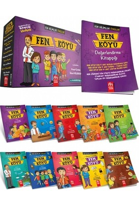 3. ve 4. Sınıf Fen Köyü Hikaye Seti 10 Kitap