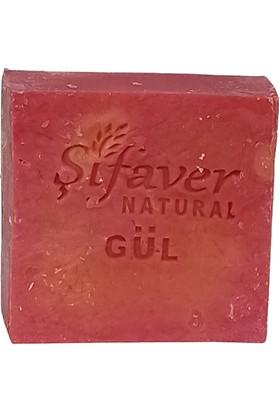 Şifaver Natural Gül Bitkisel Sabun 125 gr