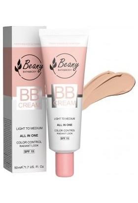 Unice Beany Bb Cream 15 Spf Açık-Orta, 50 ml