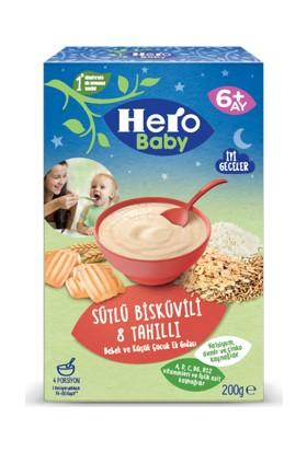 Hero Baby Sütlü Bisküvili 8 Tahıllı Kaşık Maması 200 g