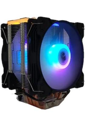 Snowman T4 Cpu Fan Çift Fanlı Soğutucu
