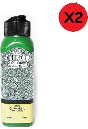 Artdeco Akrilik Boya 140 ml Çuha Yeşili Y-070R-3037 2 Adet