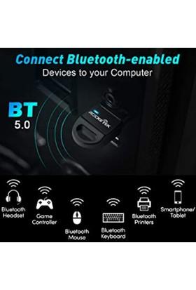 Rocketek Bluetooth 5.0 Mini Dongle USB Alıcı Verici Adaptör