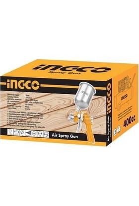 Ingco ASG4041 Havalı Boya Sprey Tabancası Üstten Depolu 400CC