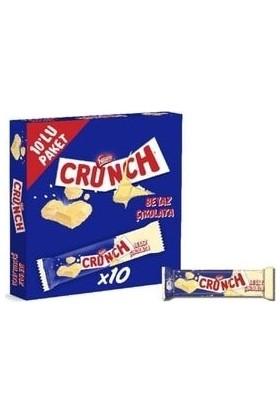 Nestle Crunch Beyaz Çikolatalı 10 Lu Paket