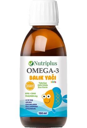 Farmasi Nutrıplus Omega3 Balık Yagı Portakal Aromalı 150ML