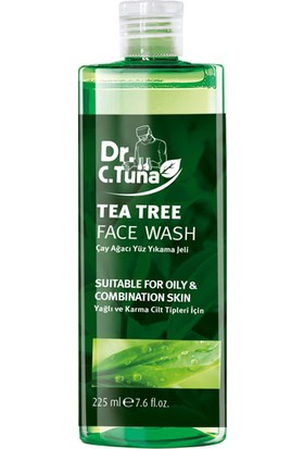 Farmasi Dr. C. Tuna Çay Ağacı Yağlı Yüz Yıkama Jeli 225 ml