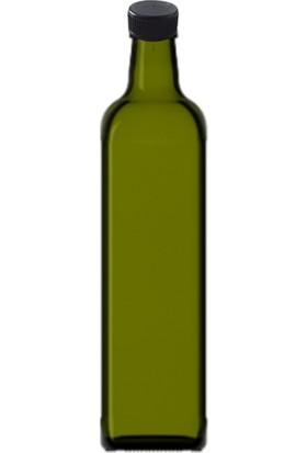 Şişecam 12 Adet Marasca 750CC Cam Şişe Kapaklı Şarap Yağ Şişesi Zeytin Yeşili 120575