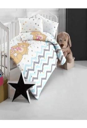 Altınbaşak Star Bear Creaforce Bebek Nevresim Takımı