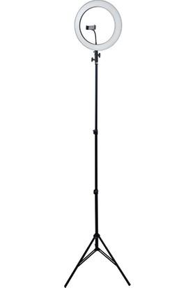 Sparky Sparky LED Lambalı 36CM Tripod Slt-01 Siyah