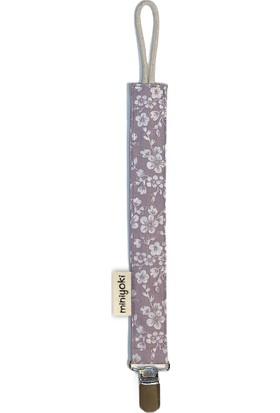 Miniyoki Sakura Mor Emzik Askısı, Sertifikalı %100 Sağlıklı, Ince Bağcıklı