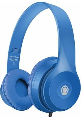 Preo My Sound MS34 Kulak Üstü Kulaklık Mavi