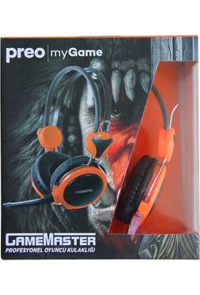 Preo My Game MGH06 Kulak Üstü Gaming Kulaklık Turuncu