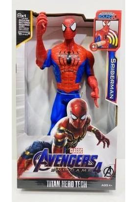 Avengers Spiderman Işıklı Sesli Örümcek Adam Figür