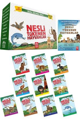 Model Yayınevi Nesli Tükenen Hayvanlar (10 Kitap) + Meslek Bilinci (10 Kitap) 2'li Hikaye Seti