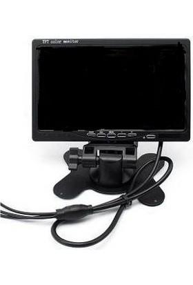 Navigold 7 Inch LCD Araç Monitör Geri Vites Kamerası Uyumlu