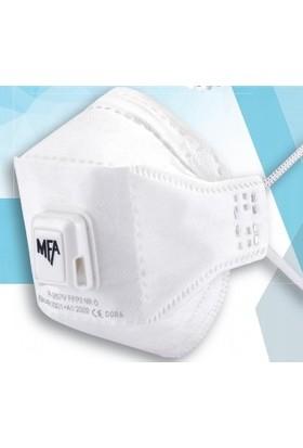 Mfa 10 Adet Mfa P367 Ffp3 N95-N99 Ventilli Maske