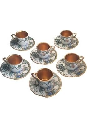 Biev Bohem 6 Lı Kahve Takımı